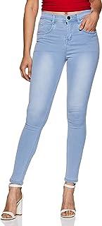 SLVETE Women's Denim High Rise Jeans