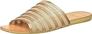 Dolce Vita Women's KATLEE Slide Sandal, Rose Gold MESH, 10 M US