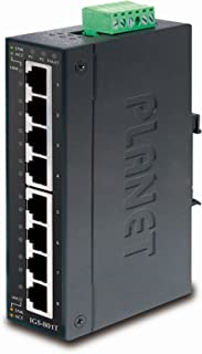 IGS-801T IP30 Industrial Gigabit Ethernet Switch 8-Port 10/100/1000TX (-40~75 C)