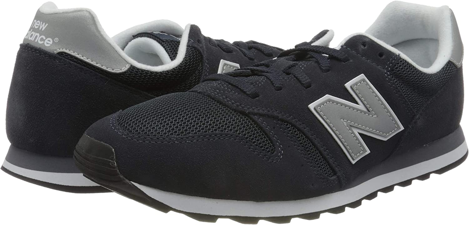 Amazon.com | New Balance 373 Trainers in Navy and Silver | Shoes