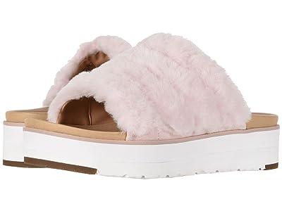UGG Fluff Yeah Sandal (Seashell Pink) Women