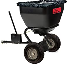 product image for Brinly BS36BH, 175 lb, Black Tow-Behind Broadcast Spreader