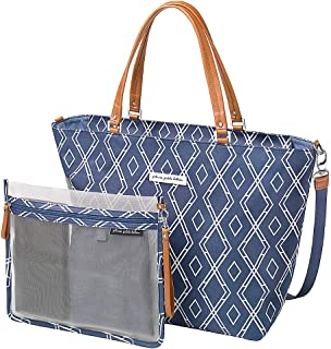 Petunia Pickle Bottom Altogether Tote Diaper Bag in Indigo