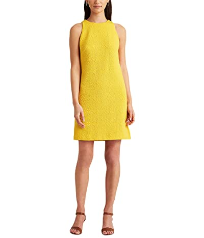 LAUREN Ralph Lauren Quilted Ponte Sleeveless Dress Women