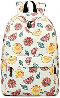 Joymoze Cute School Backpack for Boys and Girls Lightweight Chic Prints Bookbag