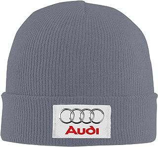 Audi Logo Adjustable Winter Knit Cap Beanie Cap Skull Cap for Unisex