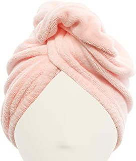 Mimi's Diva Dryer Microfiber Hair Turban, Pink