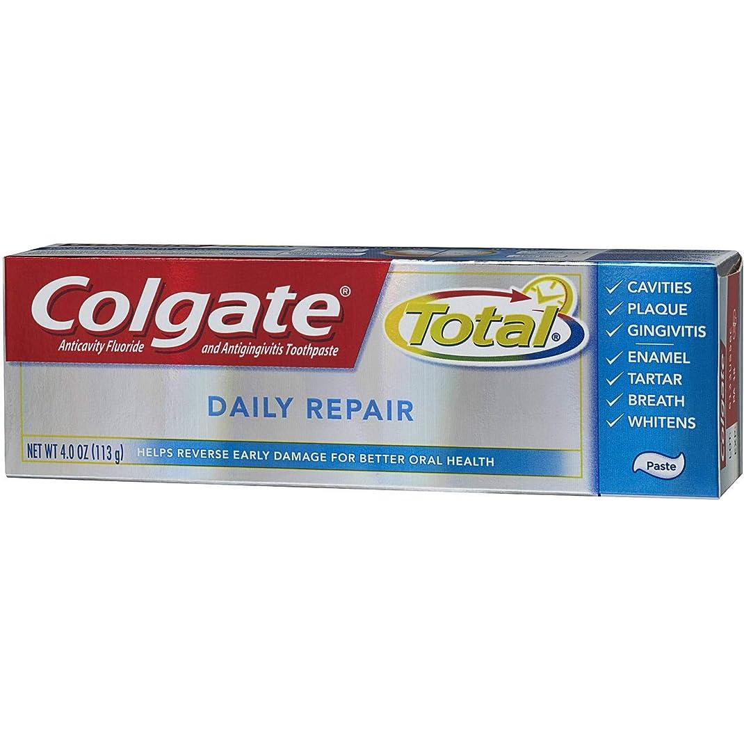 花輪登場価値のないColgate 全日修理歯磨き粉4オズ(2パック)