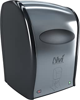 Solaris Paper D68001 Nvi Electronic Touchless Roll Towel Dispenser, Stainless Steel