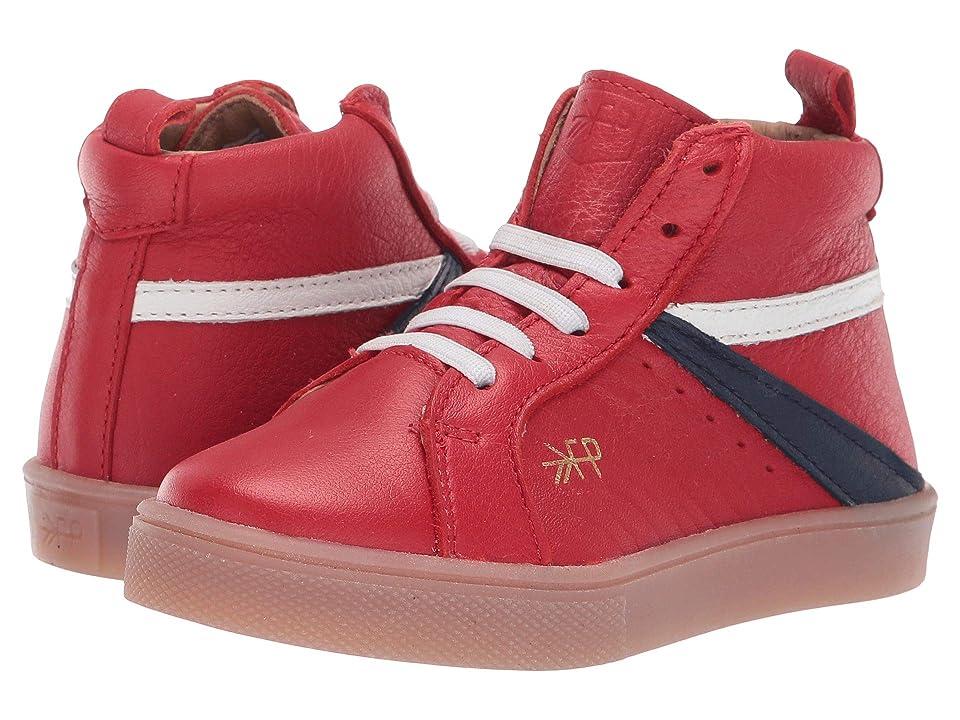 Freshly Picked High Top Sneaker (Toddler/Little Kid) (Cherry) Kid