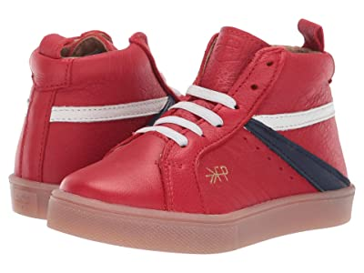 Freshly Picked High Top Sneaker (Toddler/Little Kid) (Cherry) Kid