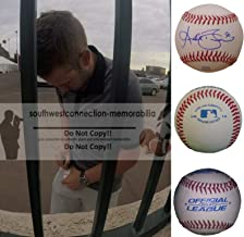 Luke Bard Los Angeles Angels Autographed Hand Signed Baseball with Exact Proof Photo of Signing and COA- LA Angels Collectibles