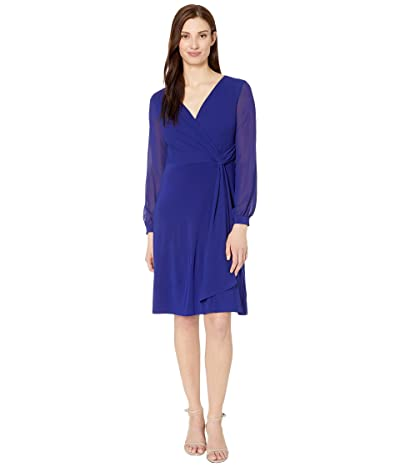 LAUREN Ralph Lauren Cooper Long Sleeve Day Dress Women