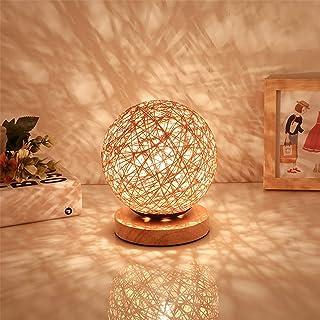 Solid Sepak Takraw LED Desk Lamp USB Decorative Night Light High Quality (Color : Flaxen)