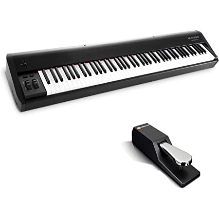 M-Audio Hammer 88 + SP-2 - Teclado controlador USB/MIDI ...