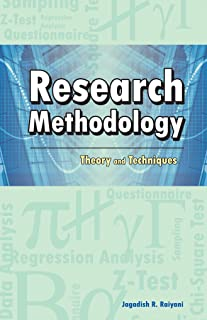 Research Methodology: Theory & Techniques