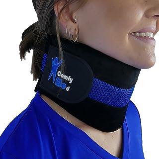"""ComfyMed® Neck Brace CM-NB18 Cervical Neck Support Collar for Men and Women (REG (12""""-15""""))"""