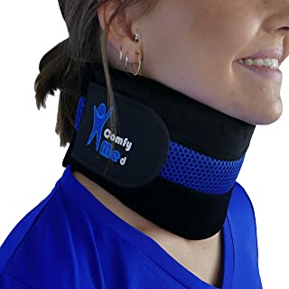 ComfyMed® Neck Brace CM-NB18 Cervical Neck Support Collar for Men and Women (REG (12