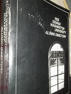 1978 George Washington University Alumni Directory