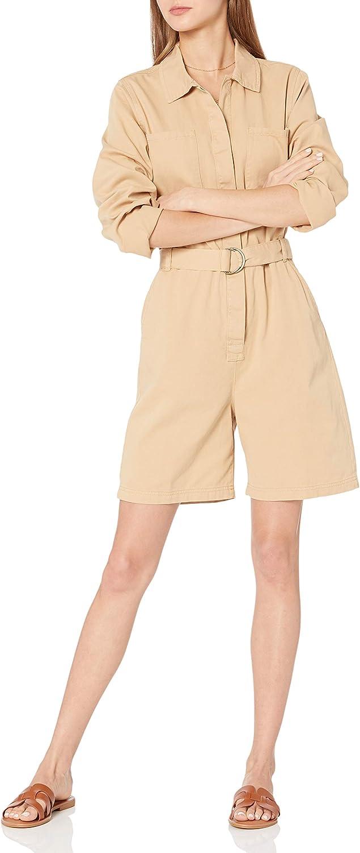 The Drop Cash special half price Women's Karla Vintage Short Jumpsuit Utility