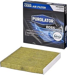 فلتر هواء كابينة ممتاز Purolator PBC35519 Purolator مع انتعاش فبريز