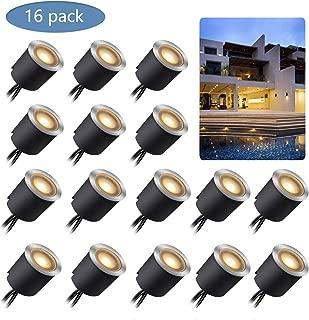 Kit de Luces LED Empotradas para Terrazas con Carcasa
