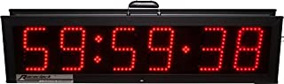 6 Digit Double Sided Electronumberic XL Series LED Raceclock