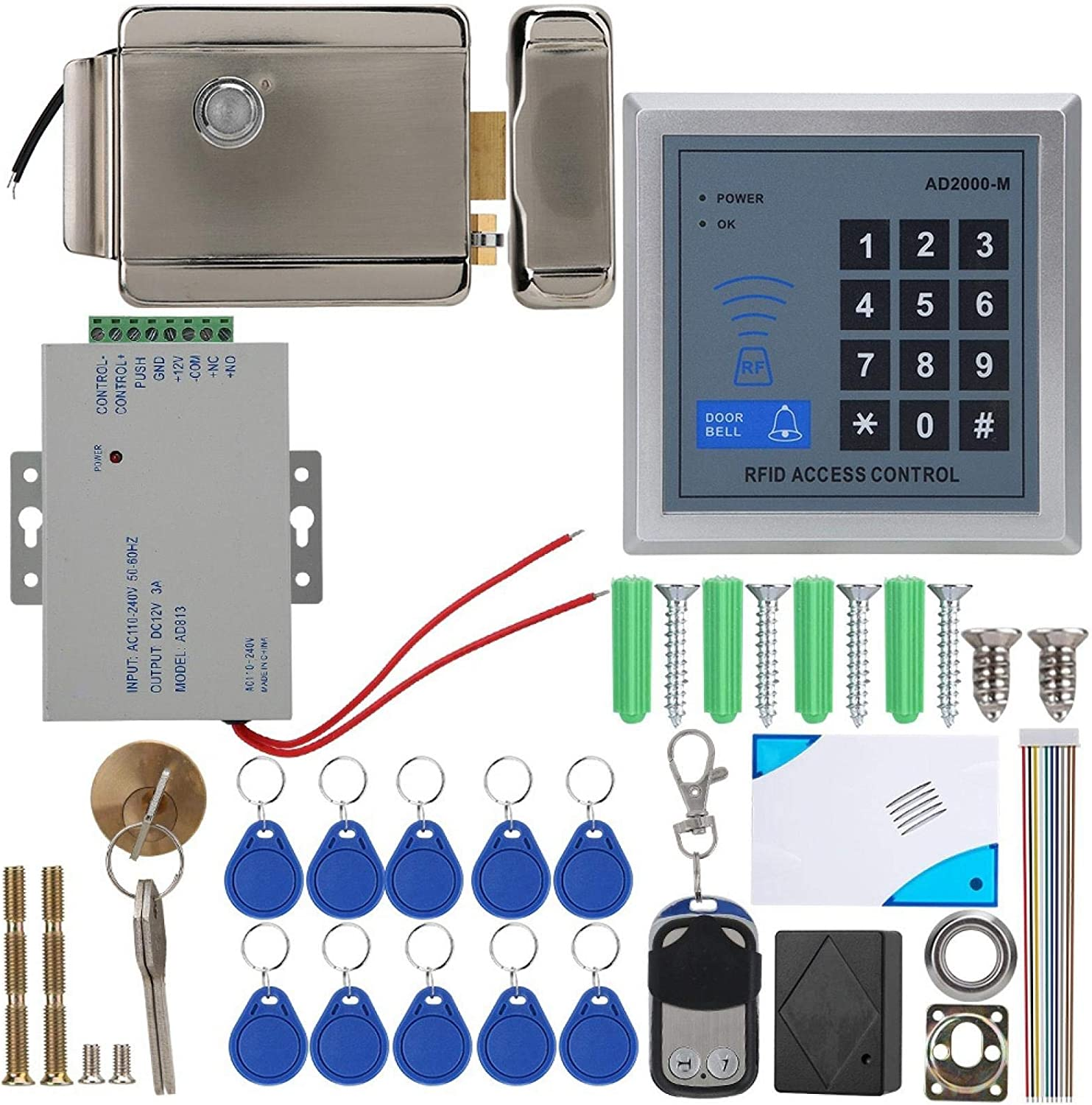 Price reduction RBSD Lock Access Control Security Buildings Quality Commercial 5 popular
