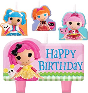 Cake Candle Set | Lalaloopsy Collection | Party Accessory