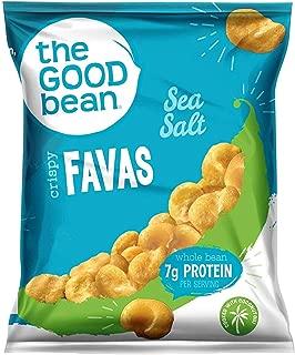 The Good Bean Gluten-Free Crispy Favas, Sea Salt, 1 Ounce, 50 Count