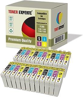 Pack de 24 XL TONER EXPERTE® Compatibles T1285 Cartuchos de Tinta para Epson Stylus S22 SX125 SX130 SX230 SX235W SX420W SX425W SX430W SX435W SX438W SX440W SX445W Office BX305F BX305FW Plus