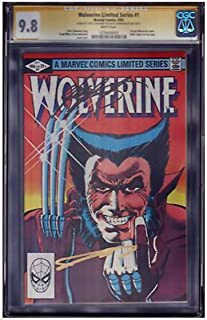 Wolverine Limited #1 SS CGC 9.8 Signed X2 By