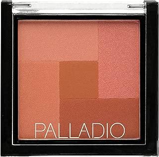 Palladio 2-In-1 Mosaic Powder Blush & Bronzer, Desert Rose