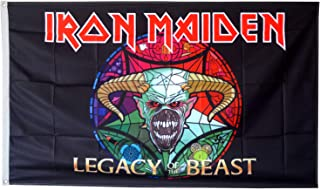 Dimike Iron Maiden Legacy of The Beast Flag 3X5FT Banner