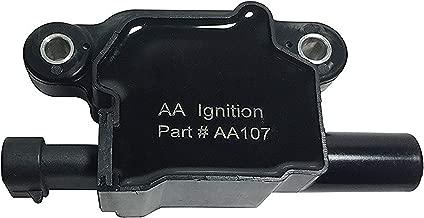 Ignition Coil Pack - Replaces GM 12570616, D510C - Fits Cadillac, Chevrolet, GMC, Pontiac 5.3L, 6.0L V8 - G8, Grand Prix, H3, Tahoe, Yukon, Silverado, Impala, Envoy, Trailblazer, Avalanche