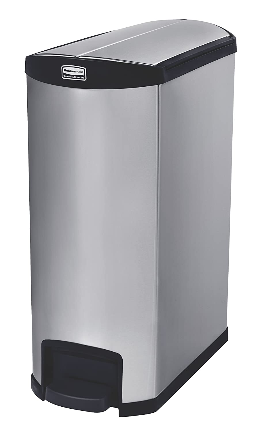 Rubbermaid Commercial Products Metal Slim Step Discount is also underway Limited time for free shipping On Kitchen Trash