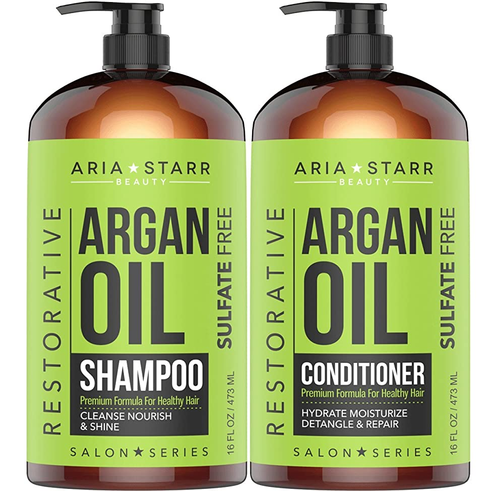 Aria Starr Argan Oil Shampoo + Conditioner Bundle
