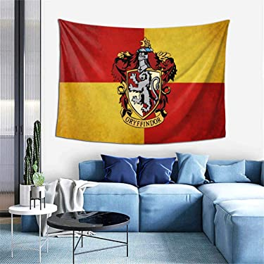 Gryffin-dor Tapestry Wall Hanging Fashion Home Decoration Wall Blanket Dormitory Living Room Bedroom 60x40inch