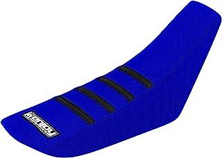 Enjoy Mfg 2006–2014Yamaha TTR 50todos los azul/negro rayas funda de asiento
