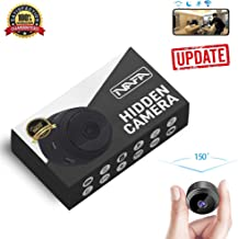 NAFA Hidden Mini Camera with WiFi [2019 Update] | Small Motion-Activated Wireless Spy Camera | Clear 150° Surveillance Recording with Night Vision | Magnetic Security, Home, Car & Nanny Cam