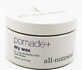 all nutrient pomade + dry wax 3.4 fl