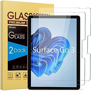 [2 PACK] Surface Go Screen Protector, SPARIN [Gehard Glas] [Hoge Responsive] [Krasbestendig] Screen Protector voor Microso...