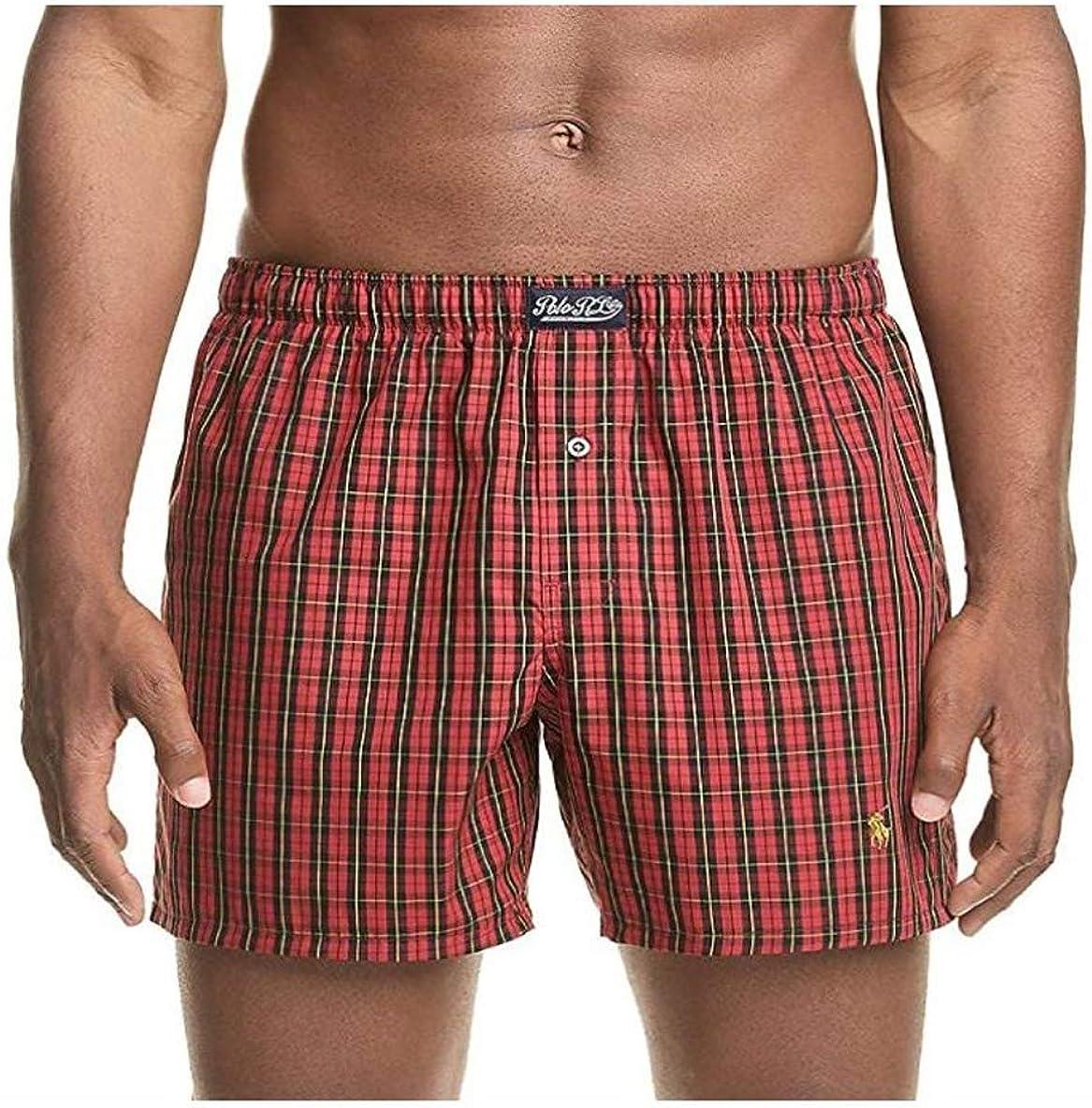 Polo Ralph Lauren Men's Underwear 100% Cotton Classic Fit Boxer