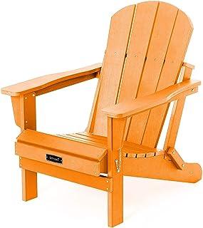Folding Adirondack Chair Patio Chair Lawn Chairs Outdoor Chairs Adirondack Chairs Weather Resistant for Patio Deck Garden,...