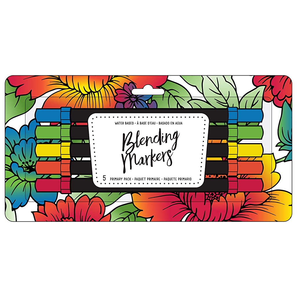 American Crafts 343249 Blending Markers Primary