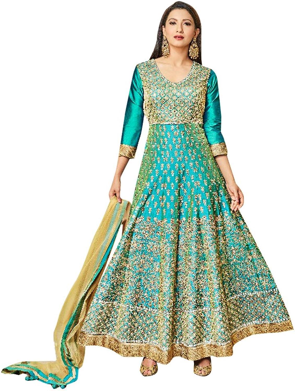 Bollywood Collection Anarkali Dresses for women Salwar Kameez Ceremony Wedding 912