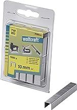 Wolfcraft 7036000 brede rugklemmen, extra hard staal, type 053 10 mm, 1000 stuks