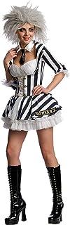 Rubie's Unisex Beetlejuice Secret Wishes Costume, Adult, Multicoloured