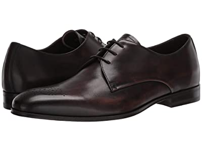 Canali Bleached Calfskin Oxford (Brown) Men