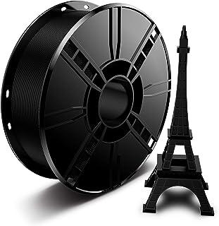 3D Printer PLA Filament 1.75mm 1KG Black, LABISTS 3D Printing PLA Filament Bundle 1kg/2.2lb/Spool (Black, 1 Pack)